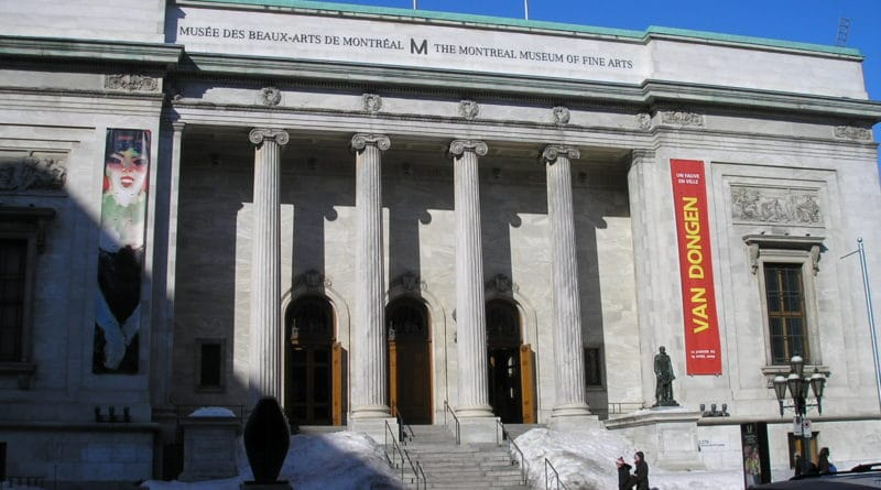 The Montreal museum of fine art
