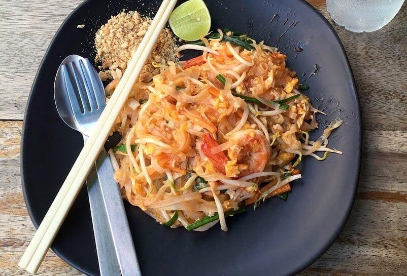 Thajská klasika – rýžové nudle PAD THAI