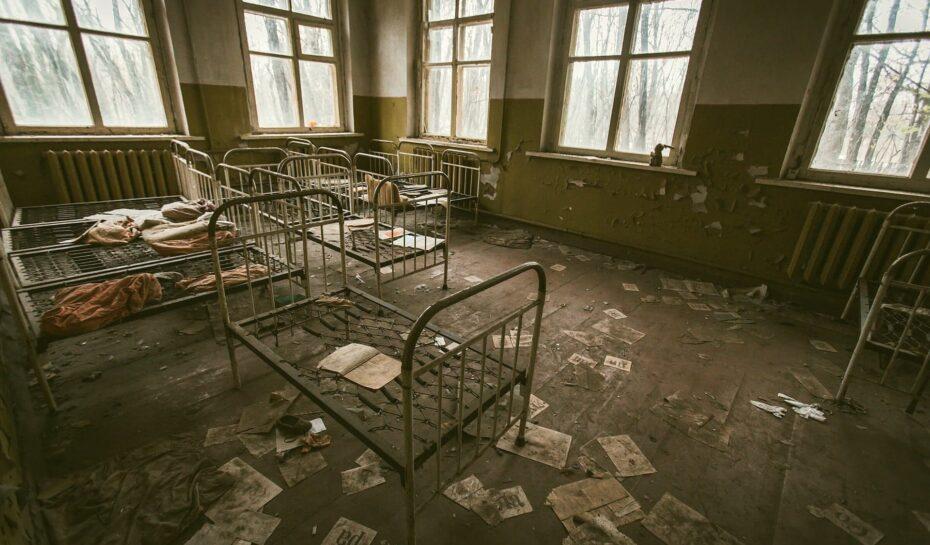 Dovolená pro otrlé. V uzavřené zóně Černobylu otevřeli hostel