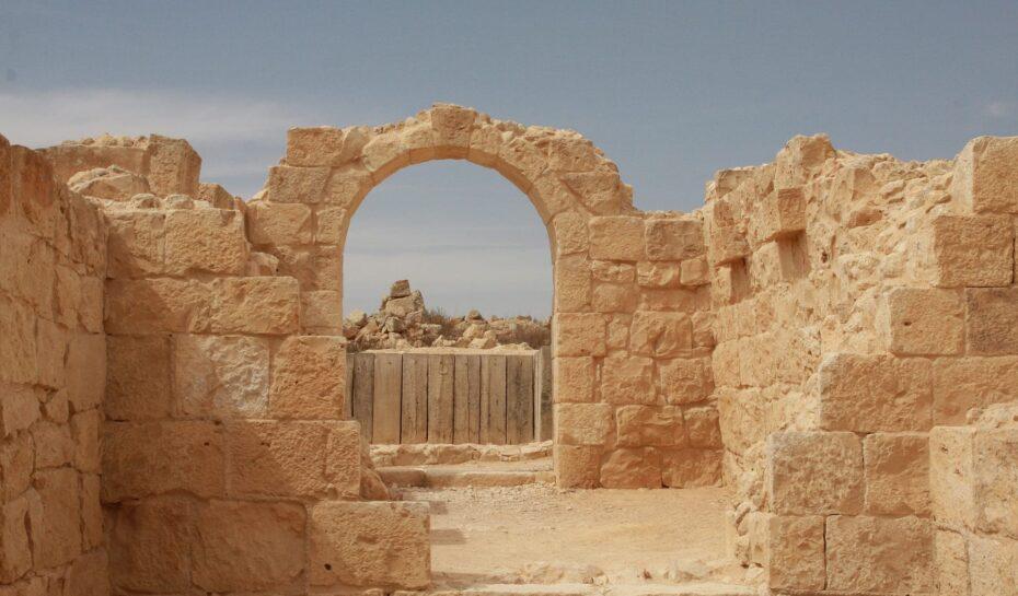 Kadidlová stezka Nabatejců a izraelský Grand Canyon