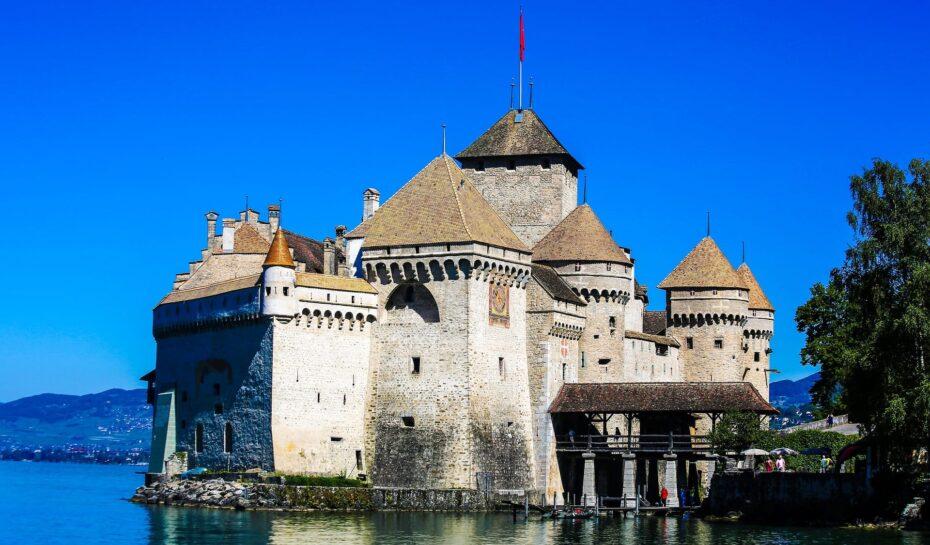 Nejvíce turistů ve Švýcarsku táhne hrad Chillon