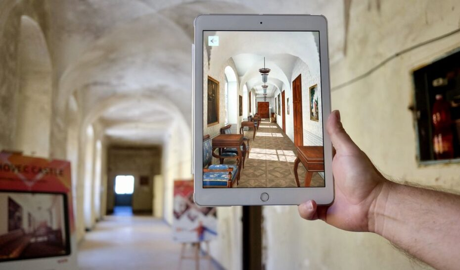 Zámek Hlohovec, spojení historie s moderní technologií