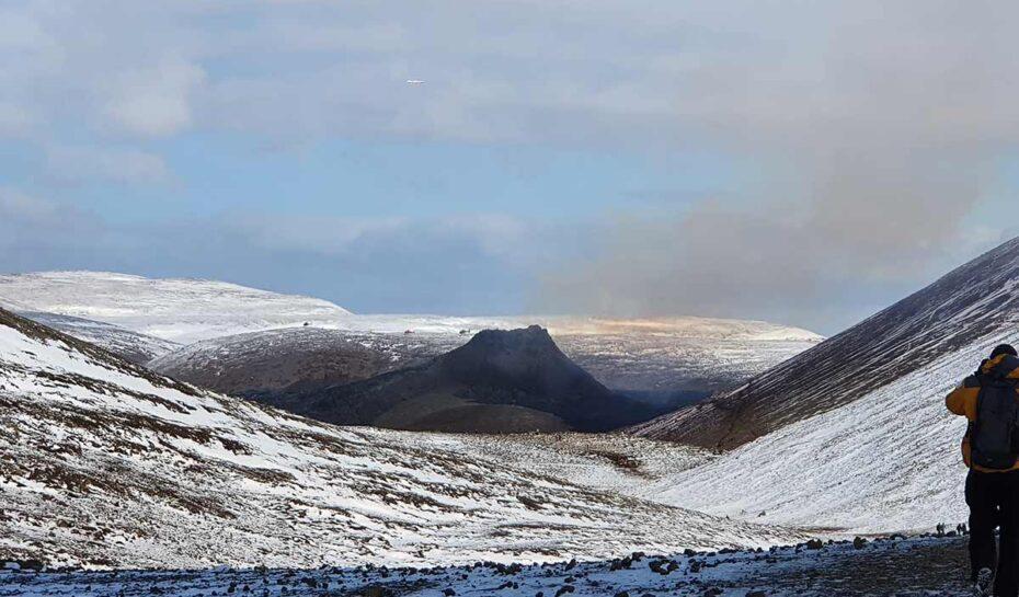 Výlet na erupci v údolí Geldingadalur
