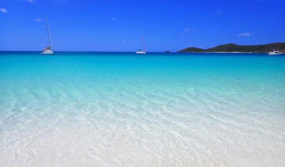 Nejlepší pláží světa je australská Whitehaven Beach